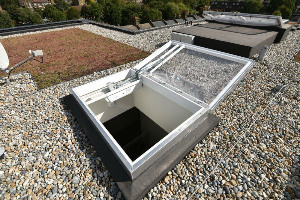 Aov System Automatic Opening Ventilation Smoke Vents